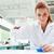 bilim · adamı · sıvı · laboratuvar · kadın - stok fotoğraf © wavebreak_media
