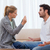 Angry couple arguing in their living room stock photo © wavebreak_media