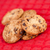 cookies · fuera · junto · rojo · mantel - foto stock © wavebreak_media