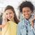 2 · 女性 · 友達 · 笑みを浮かべて · ショッピングバッグ · 肖像 - ストックフォト © wavebreak_media