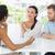 casal · falante · terapeuta · escritório · mulher · ajudar - foto stock © wavebreak_media