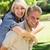 háton · boldog · férfi · nő · felnőtt · pár - stock fotó © wavebreak_media