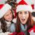 aile · şapka · hediyeler · ev - stok fotoğraf © wavebreak_media