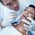 masculina · dentista · examinar · dientes · dentistas · silla - foto stock © wavebreak_media