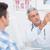 orvos · magyaráz · anatómiai · gerincoszlop · beteg · orvosi - stock fotó © wavebreak_media