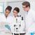 geconcentreerde · man · wetenschapper · werken · microscoop - stockfoto © wavebreak_media