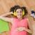 young creative businesswoman enjoying music stock photo © wavebreak_media
