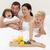 familie · voedzaam · ontbijt · bed · ochtend · home - stockfoto © wavebreak_media