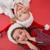 festive little girls smiling at camera stock photo © wavebreak_media