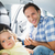 father securing his baby in the car seat stock photo © wavebreak_media