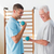 idős · felnőtt · férfi · edz · tornaterem · aktív - stock fotó © wavebreak_media