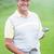 гольфист · улыбаясь · камеры · клуба - Сток-фото © wavebreak_media