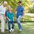 семьи · играет · футбола · вместе · парка · счастливая · семья - Сток-фото © wavebreak_media
