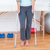 nő · áll · mankó · orvosi · iroda · sport - stock fotó © wavebreak_media