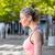 geschikt · blond · genieten · zonneschijn · voorjaar - stockfoto © wavebreak_media