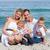 portre · aile · kadın · plaj - stok fotoğraf © wavebreak_media