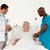 team · arts · onderzoeken · patiënt · gezondheid · schrijven - stockfoto © wavebreak_media