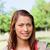 glücklich · Aussehen · Abstand · sonnig · Lächeln - stock foto © wavebreak_media
