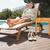 bastante · mulher · jovem · relaxante · piscina · estância · termal · centro - foto stock © wavebreak_media