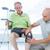 doctor examining his patient knee stock photo © wavebreak_media