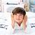 Cute · мало · мальчика · прослушивании · музыку · наушники - Сток-фото © wavebreak_media