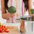 női · zöldségek · áll · konyha · nő · kezek - stock fotó © wavebreak_media