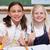 portret · gelukkig · leerlingen · klas - stockfoto © wavebreak_media