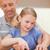 портрет · отец · перец · дочь · кухне - Сток-фото © wavebreak_media