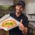 pizza · adam · sıcak · taze - stok fotoğraf © wavebreak_media