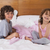 testvérek · hálószoba · otthon · lányok · jókedv · nevet - stock fotó © wavebreak_media