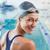 mooie · zwemmer · zwembad · glimlachend · camera · recreatie - stockfoto © wavebreak_media