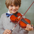portrait of cute little boy playing violin stock photo © wavebreak_media