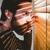 homem · assustado · irritado · fora · janela · jovem - foto stock © wavebreak_media