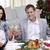 ouders · wijn · christmas · diner · home - stockfoto © wavebreak_media