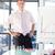 Charming businessman doing a presentation in a office stock photo © wavebreak_media