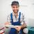 imprenditore · prendere · appunti · cucina · costruzione · strumenti · lavoratore - foto d'archivio © wavebreak_media