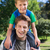 father and son having fun in the park stock photo © wavebreak_media