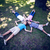 happy familly lying down in the park stock photo © wavebreak_media