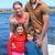 kadın · adam · kürek · çekme · tekne · göl · sevmek - stok fotoğraf © wavebreak_media
