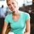 pretty blonde holding cup of coffee stock photo © wavebreak_media