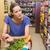 kadın · itme · süpermarket · alışveriş · rüzgâr · alışveriş · çantası - stok fotoğraf © wavebreak_media