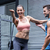 young bodybuilder training a young woman stock photo © wavebreak_media