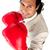 Competitive businessman wearing boxing gloves  stock photo © wavebreak_media