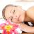 ritratto · donna · massaggio · spa · fiore - foto d'archivio © wavebreak_media