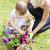 sweet child helping her mother in the garden stock photo © wavebreak_media