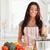 ゴージャス · 女性 · 野菜 · 立って · キッチン · 手 - ストックフォト © wavebreak_media