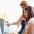 若い女性 · 支援 · 友達 · ルーム · コンピュータ · 女性 - ストックフォト © wavebreak_media