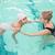 meisje · zwembad · cute · zwembad · groot · heldere - stockfoto © wavebreak_media