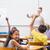 pupils raising hand in classroom stock photo © wavebreak_media