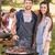 happy friends in the park having barbecue stock photo © wavebreak_media